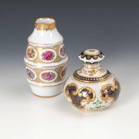 Vase und Dose. - photo 2