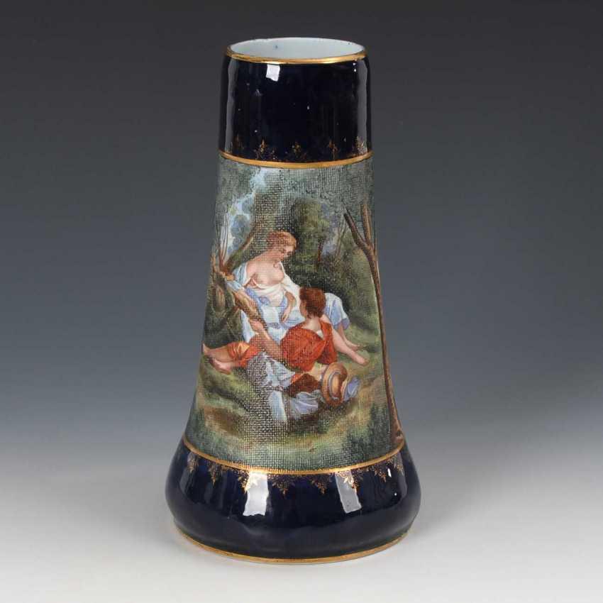Vase with shepherd scene, Heubach. - photo 1