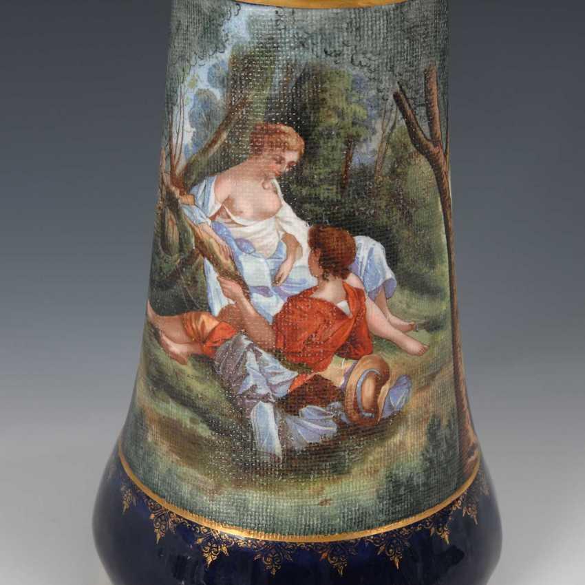 Vase with shepherd scene, Heubach. - photo 2