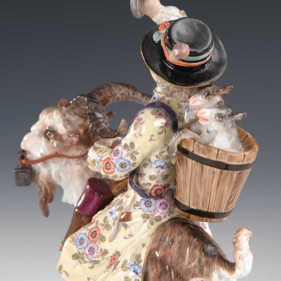 Tailor on a goat, Meissen. - photo 2