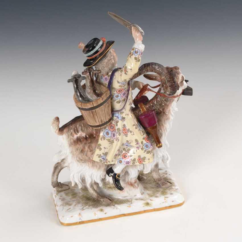 Tailor on a goat, Meissen. - photo 4