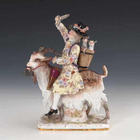 Tailor on a goat, Meissen. - photo 5