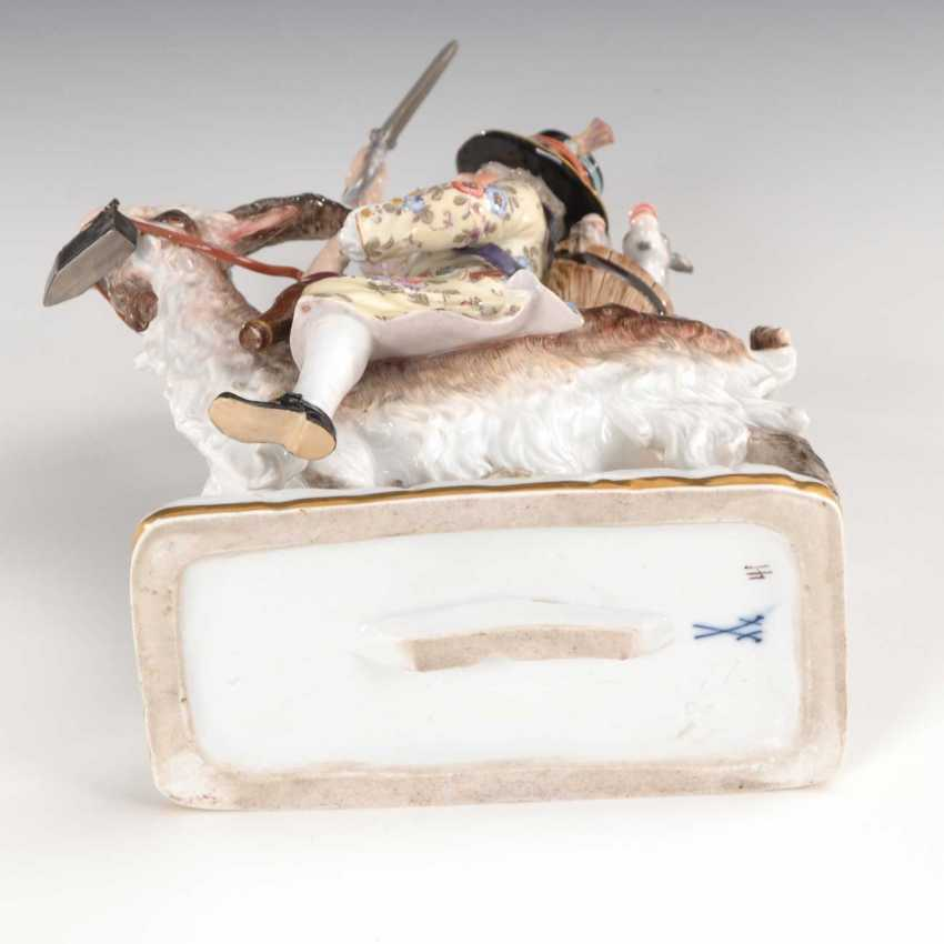 Tailor on a goat, Meissen. - photo 6