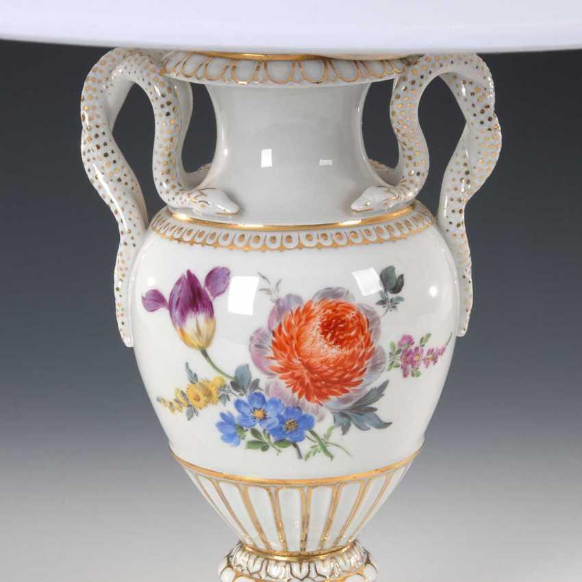 Snake handle vase as a lamp base, Meis - photo 2