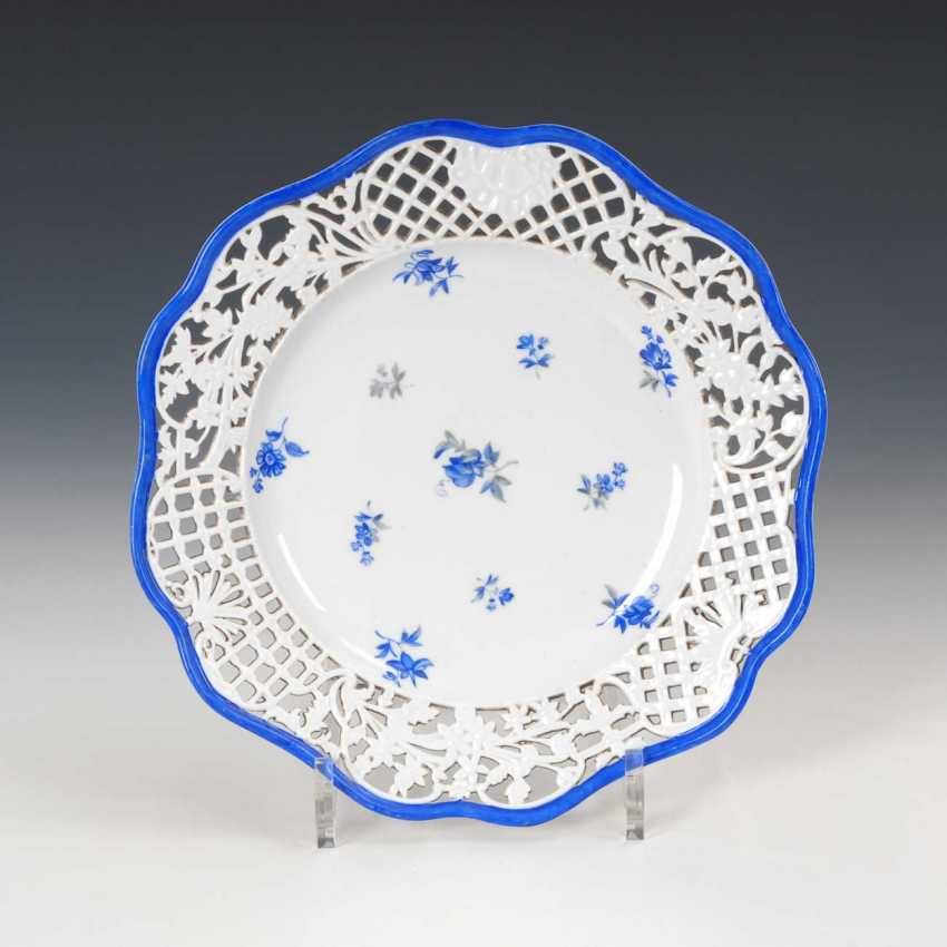 Breakthrough Plates, Meissen. - photo 1