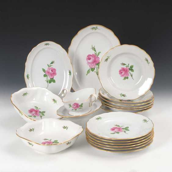"The Dining Service ""Red Rose"", Meissen. - photo 1"