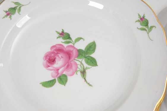 "The Dining Service ""Red Rose"", Meissen. - photo 2"