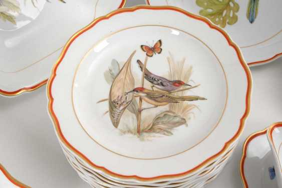 Dining service with bird painting Meissen - photo 4