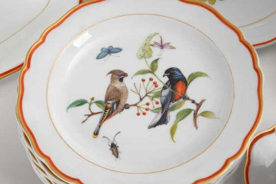 Dining service with bird painting Meissen - photo 5