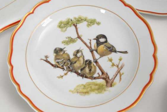 Dining service with bird painting Meissen - photo 6