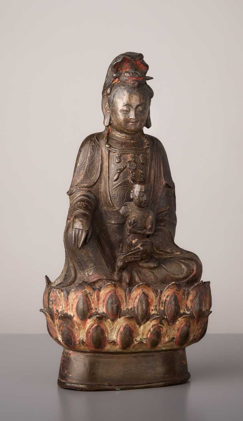 GUANYIN - THE GODDESS OF THE CHILDREN'S BLESSING - photo 1