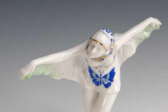 Art Deco dancer -, Hutschenreuther. - photo 2