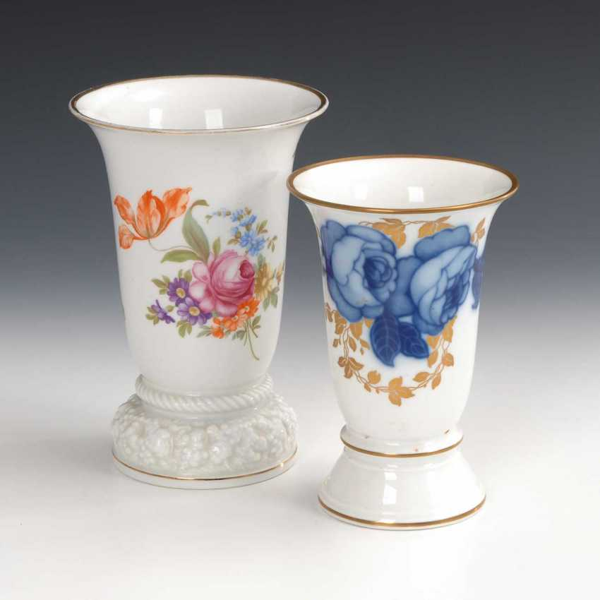 2 vases with floral decoration, Rosenthal. - photo 1