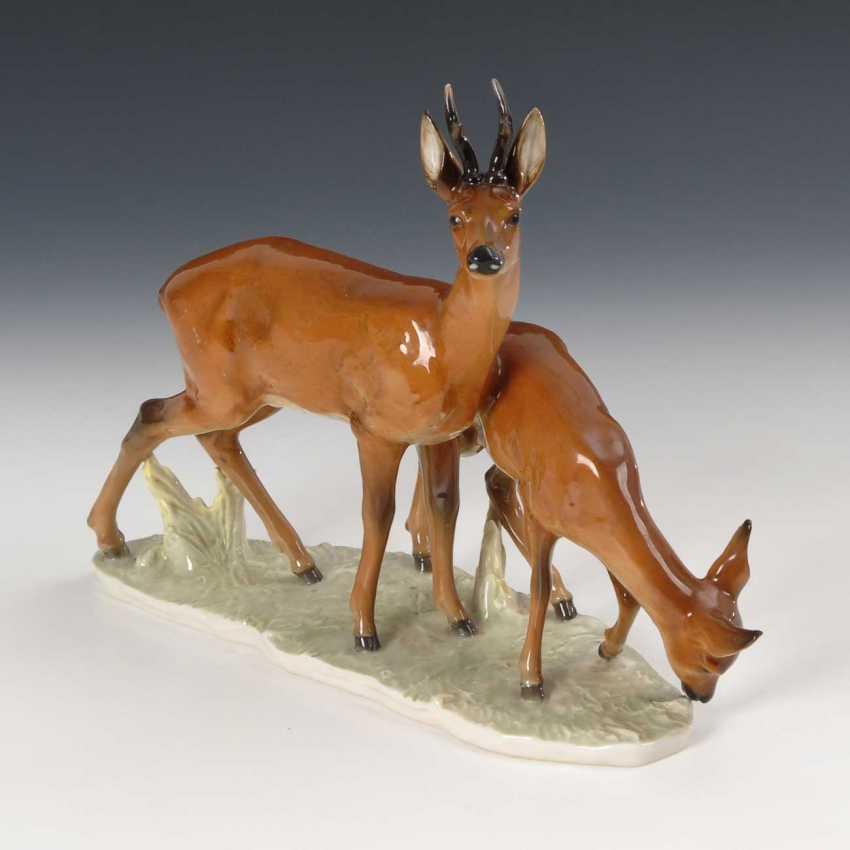 Deer, Hutschenreuther. - photo 1