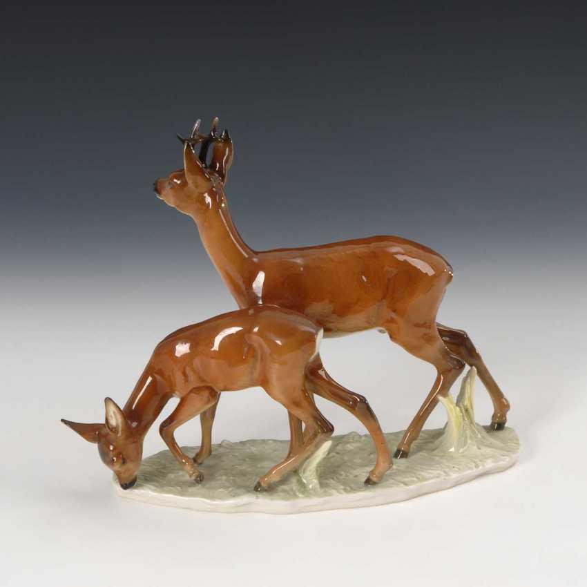 Deer, Hutschenreuther. - photo 2