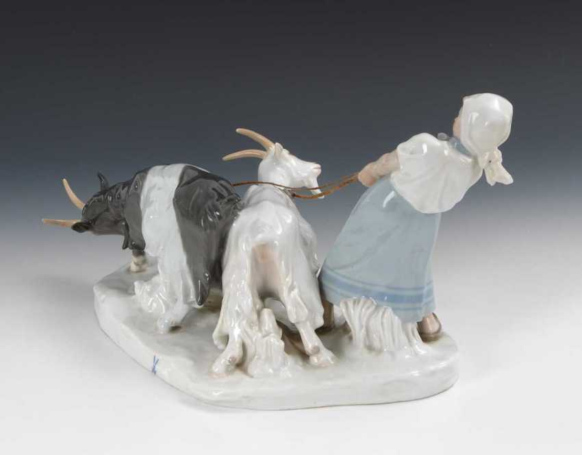 Goat Shepherdess, Meissen. - photo 4
