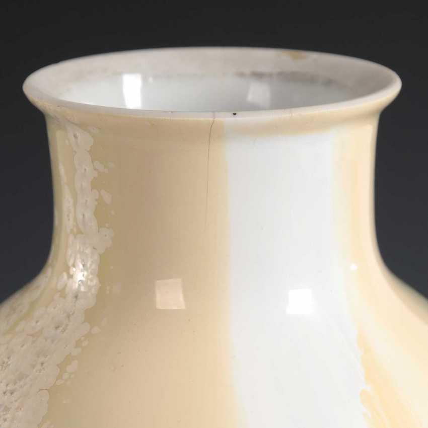 Vase with crystal glaze, KPM Berlin. - photo 3