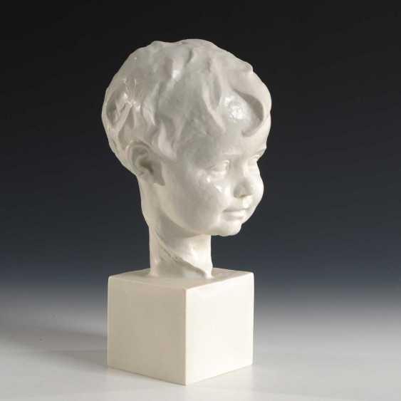 Child's Head, Rosenthal. - photo 1