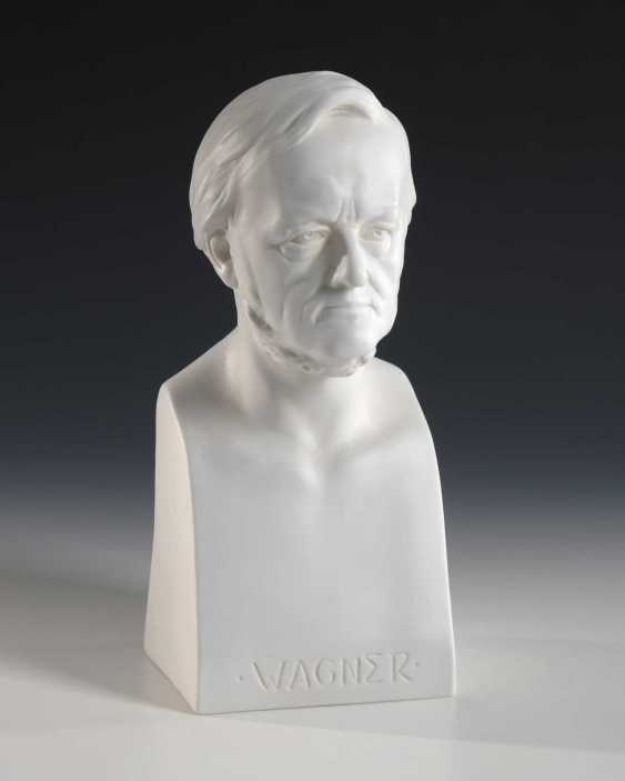 Bust Of Richard Wagner, Scheibe-Alsbach. - photo 1
