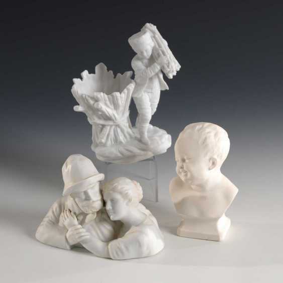 Boy bust, father and daughter, boy m - photo 1