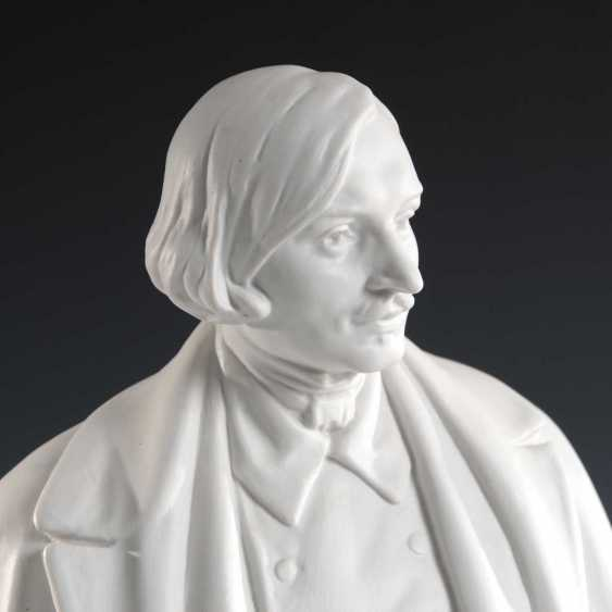 Bust: Nikolai Gogol, Lomonosov. - photo 2