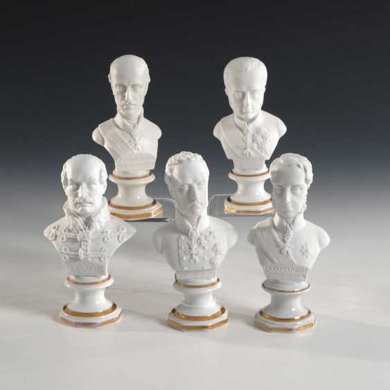 5 busts of military personalities - photo 1