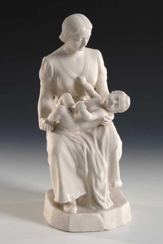 Mutter und Kind, Artel Keramika Russia. - photo 1