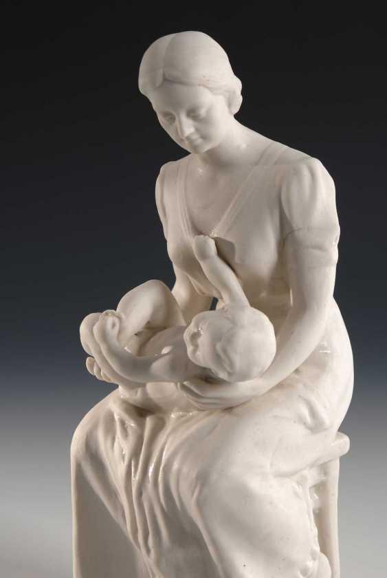 Mutter und Kind, Artel Keramika Russia. - photo 2