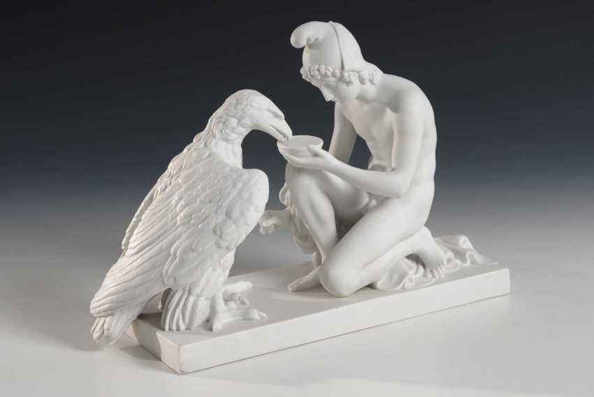 Ganymede impregnated with the eagle of Zeus, Roya - photo 1
