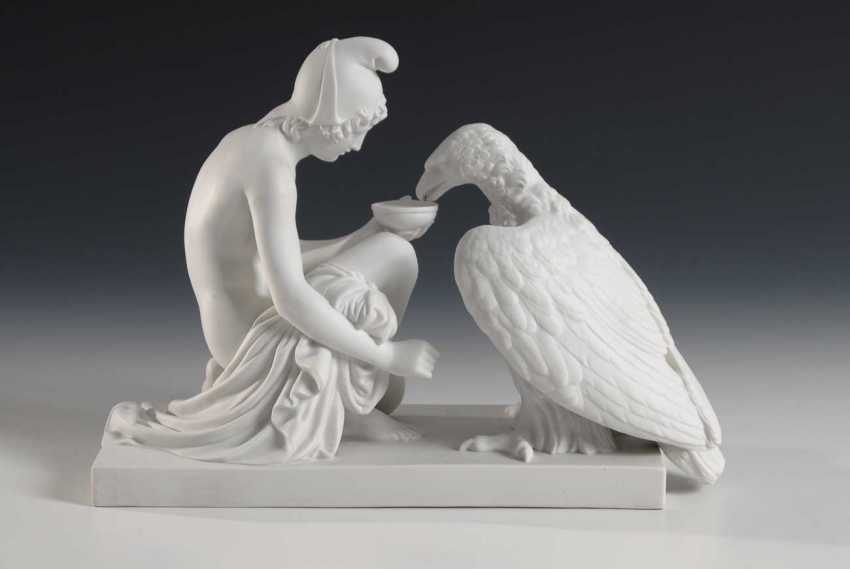 Ganymede impregnated with the eagle of Zeus, Roya - photo 2