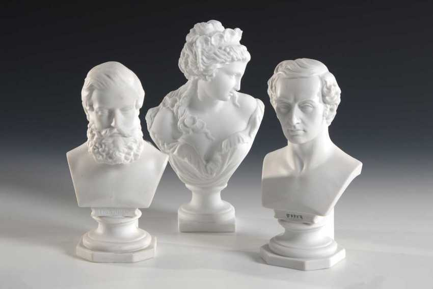 3 Biscuit Busts. - photo 1