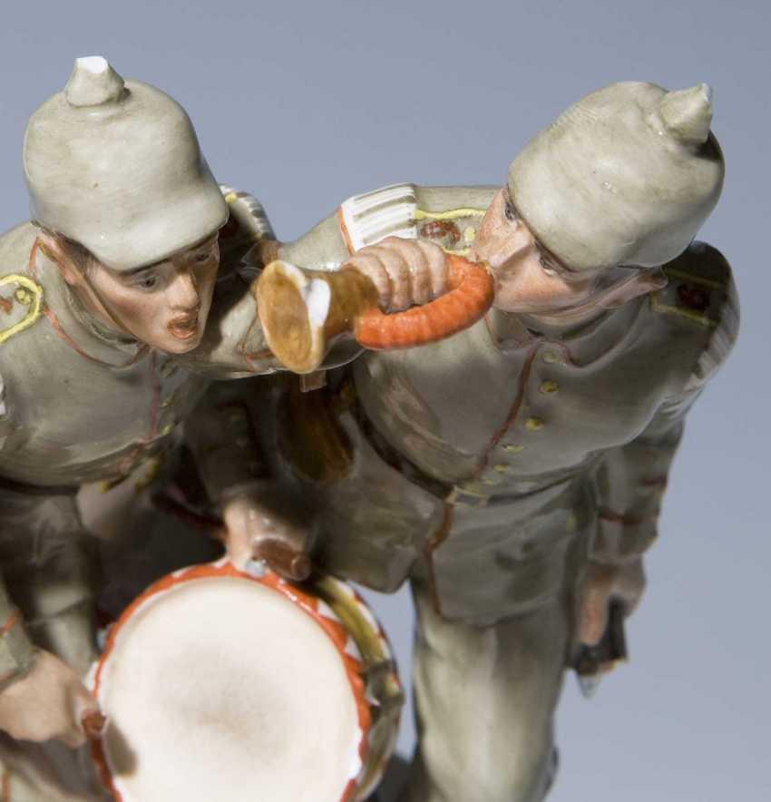 Rare Art Nouveau Figure Group: Solda - photo 2
