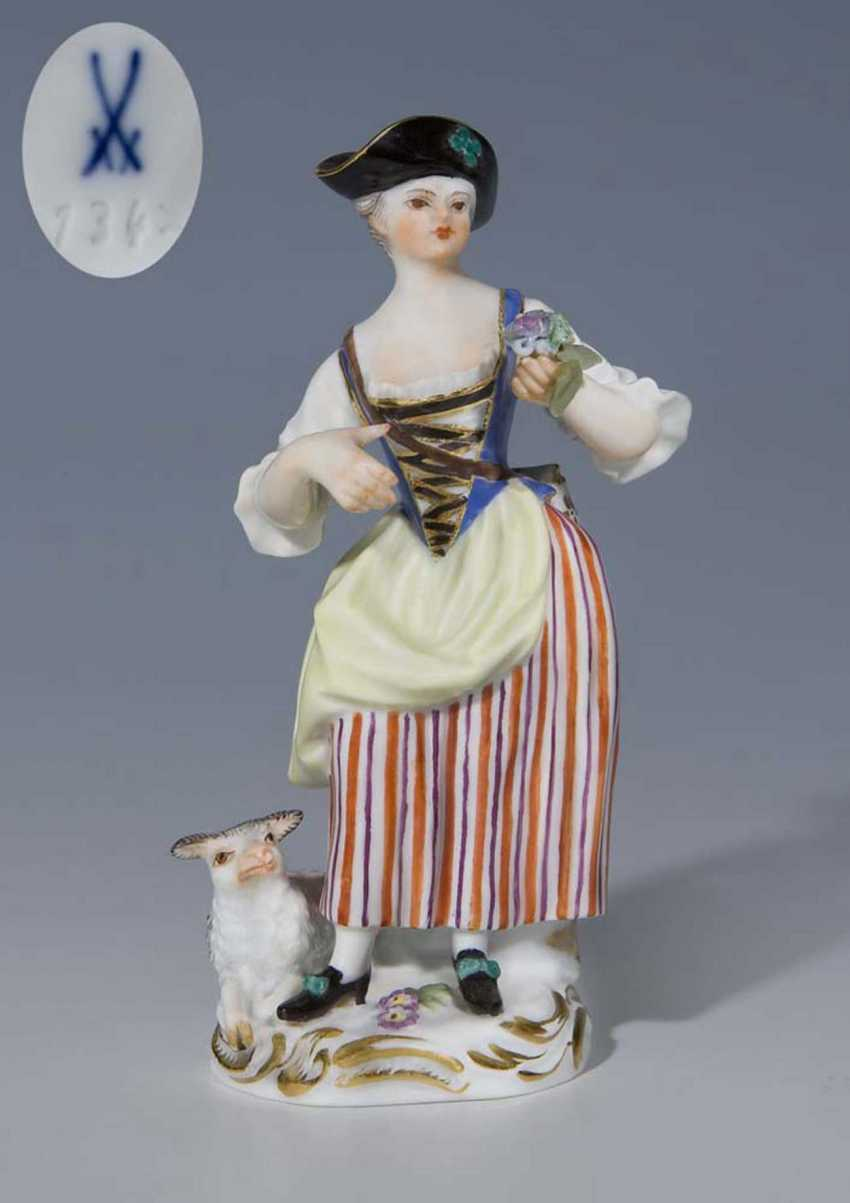 Shepherdess. - photo 1