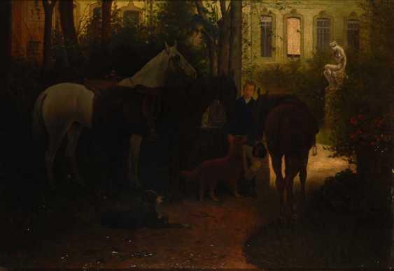 Adam, Franz: In the shadow of the Schlossgar - photo 1