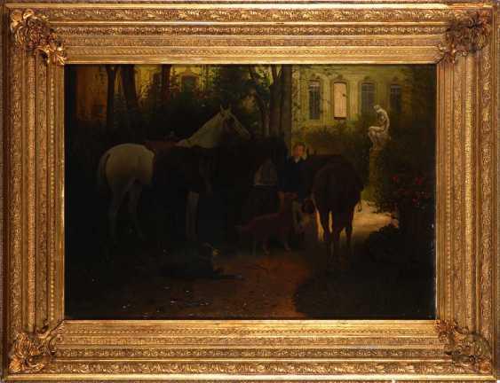 Adam, Franz: In the shadow of the Schlossgar - photo 3