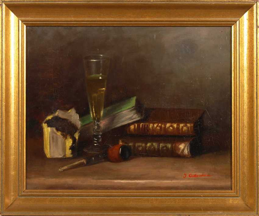 Alban, J.: still life with a pipe. - photo 2