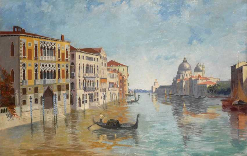 View of the Canale Grande - Venice. - photo 1