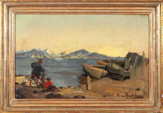 Bartels, Hans: fishermen on the shore. - photo 3