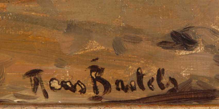 Bartels, Hans: fishermen on the shore. - photo 4