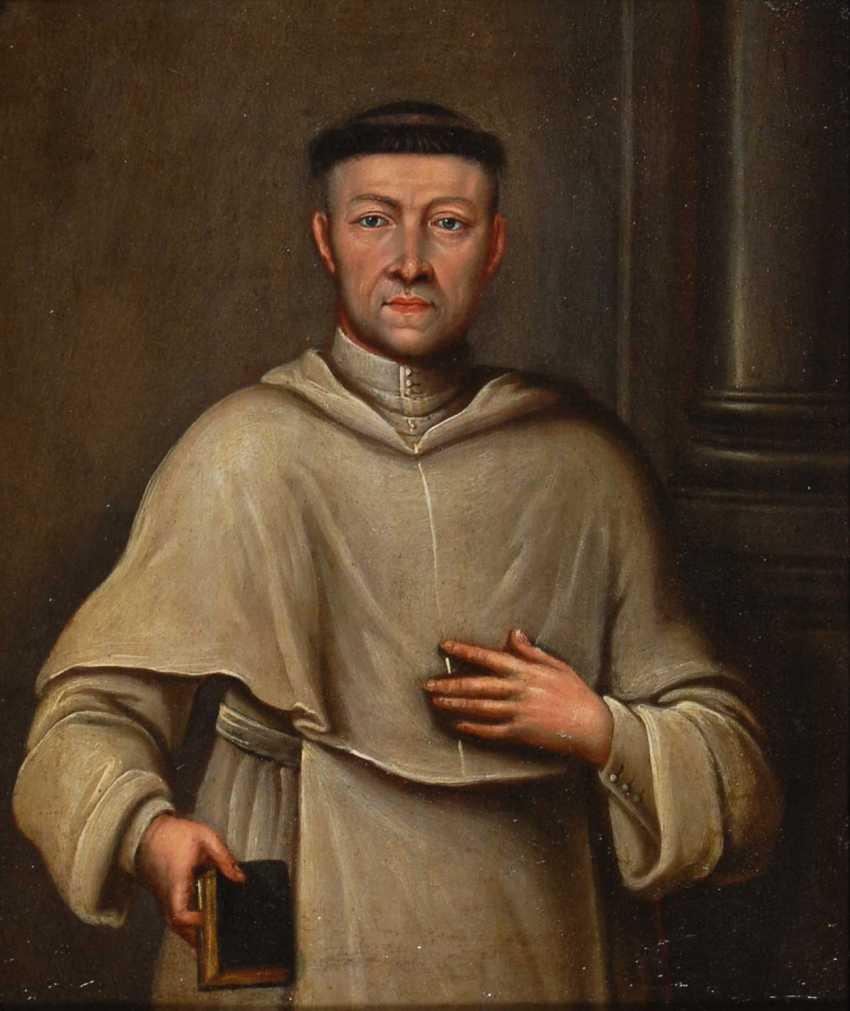Portrait of a Benediktiners. - photo 1