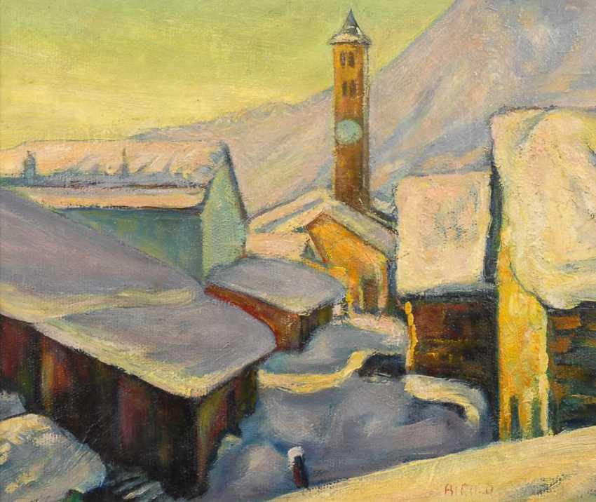 Birolo, Alfonso: Snowy Alpine Village - photo 1