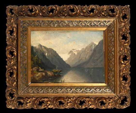 Brandenburg, Wilhelm: Mountain Lake. - photo 2