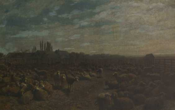 Brendel, Albert Heinrich: sheep in the Mon - photo 1