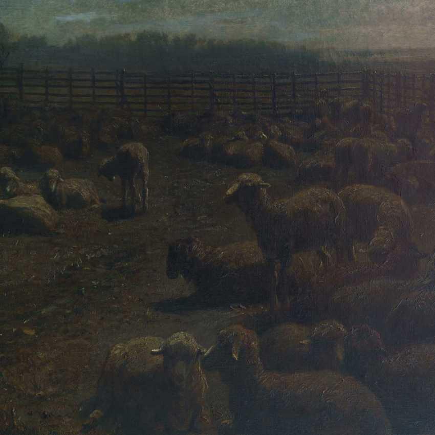 Brendel, Albert Heinrich: sheep in the Mon - photo 2
