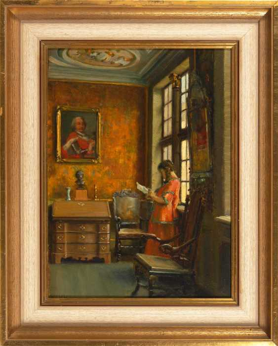 Bush, Arnold: the Baroque room with reading - photo 2