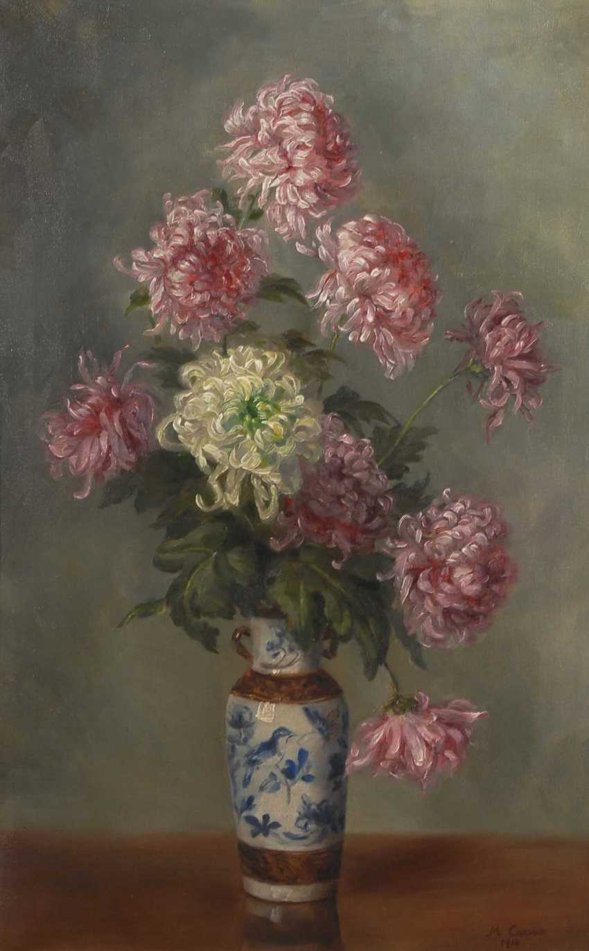Caesar, M.: still life with flowers. - photo 1