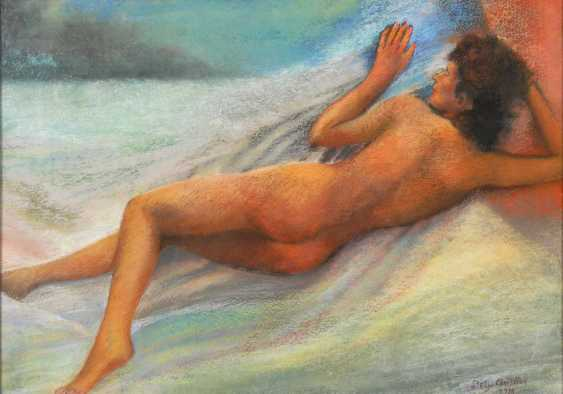 Dely, Christian: Reclining Nude. - photo 1