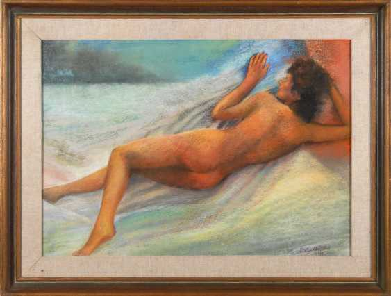 Dely, Christian: Reclining Nude. - photo 2