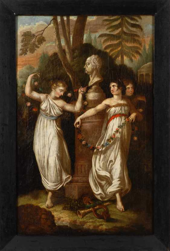 The three graces in worship of the king Maximil - photo 3