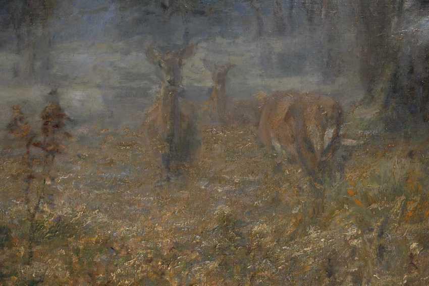Dombrowski, Carl Ritter von: deer on - photo 2